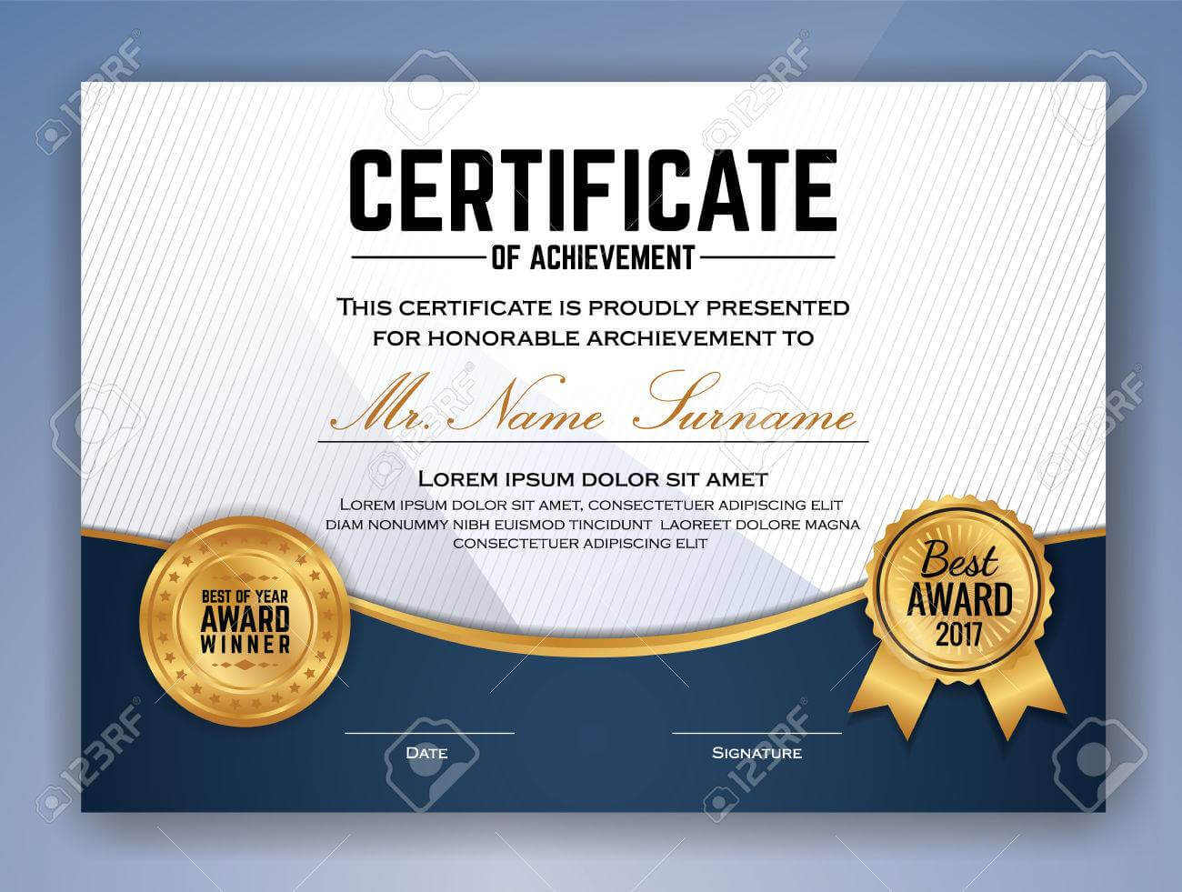 Professional Award Certificate Template - Calep.midnightpig.co With Regard To Professional Award Certificate Template
