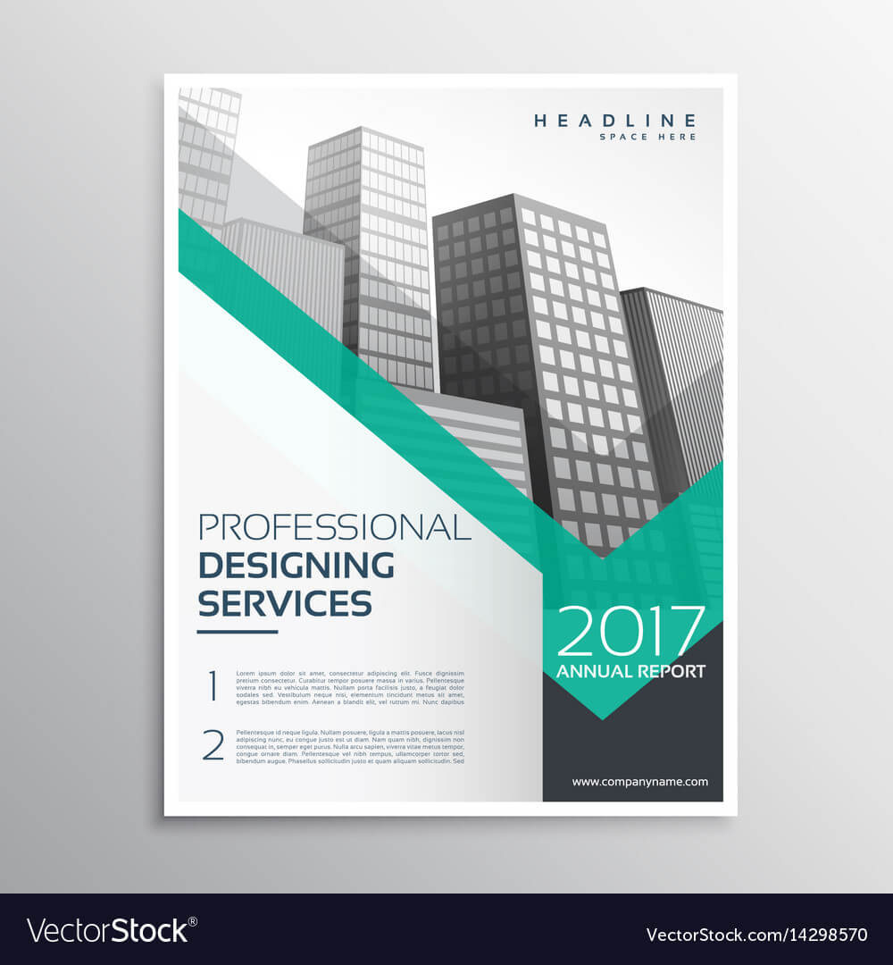 Professional Brochure Or Leaflet Template Design Throughout Professional Brochure Design Templates