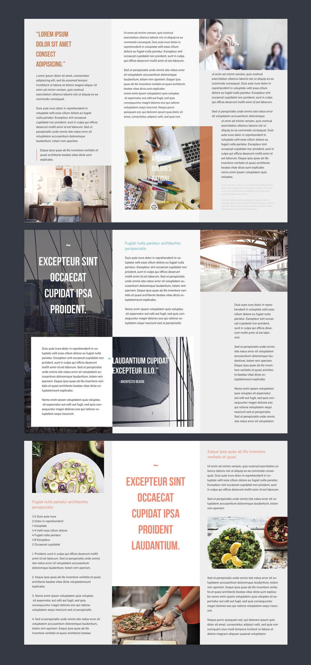 Professional Brochure Templates   Adobe Blog Pertaining To Brochure Templates Adobe Illustrator