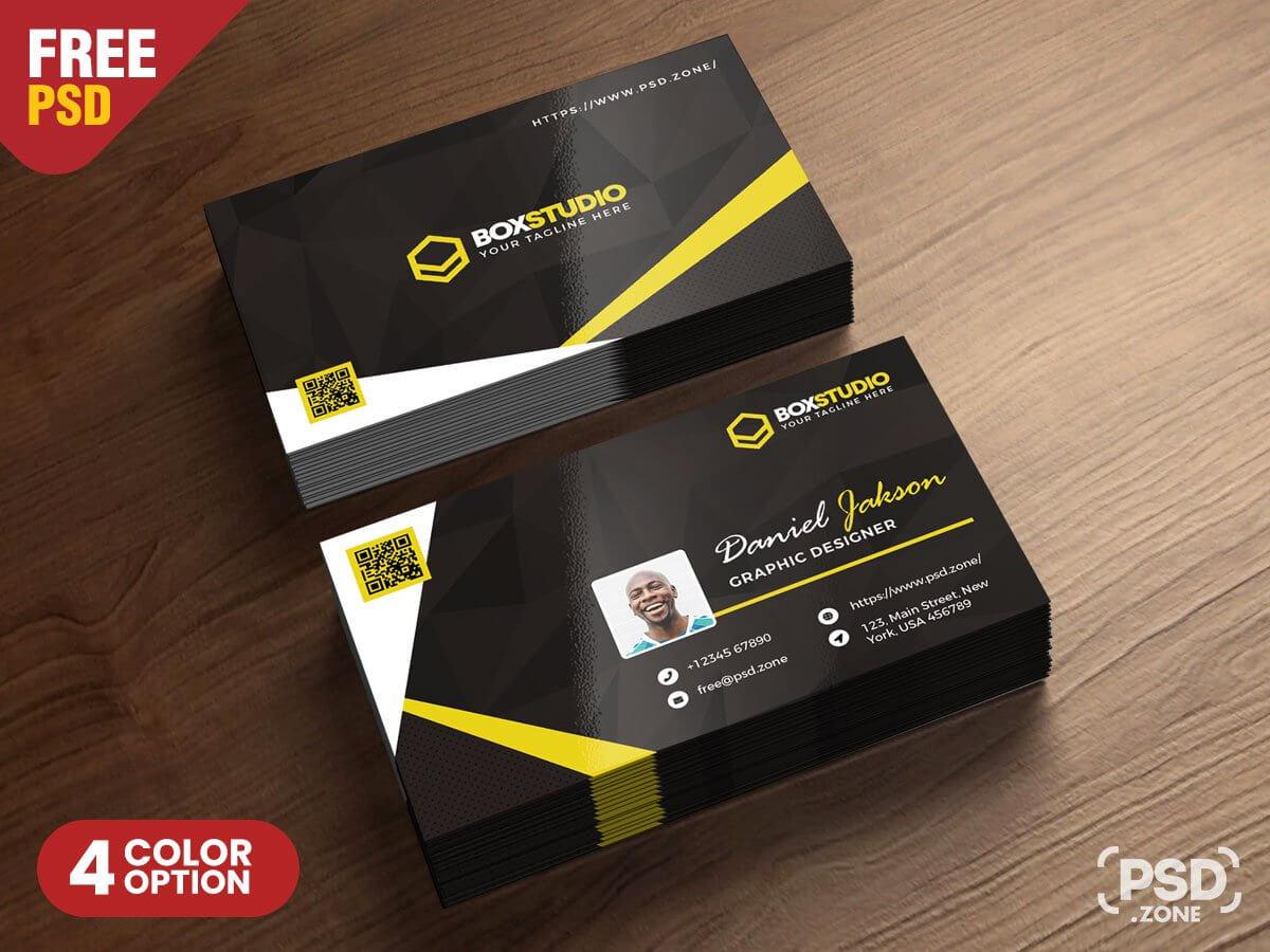 creative business card templates psd  professional