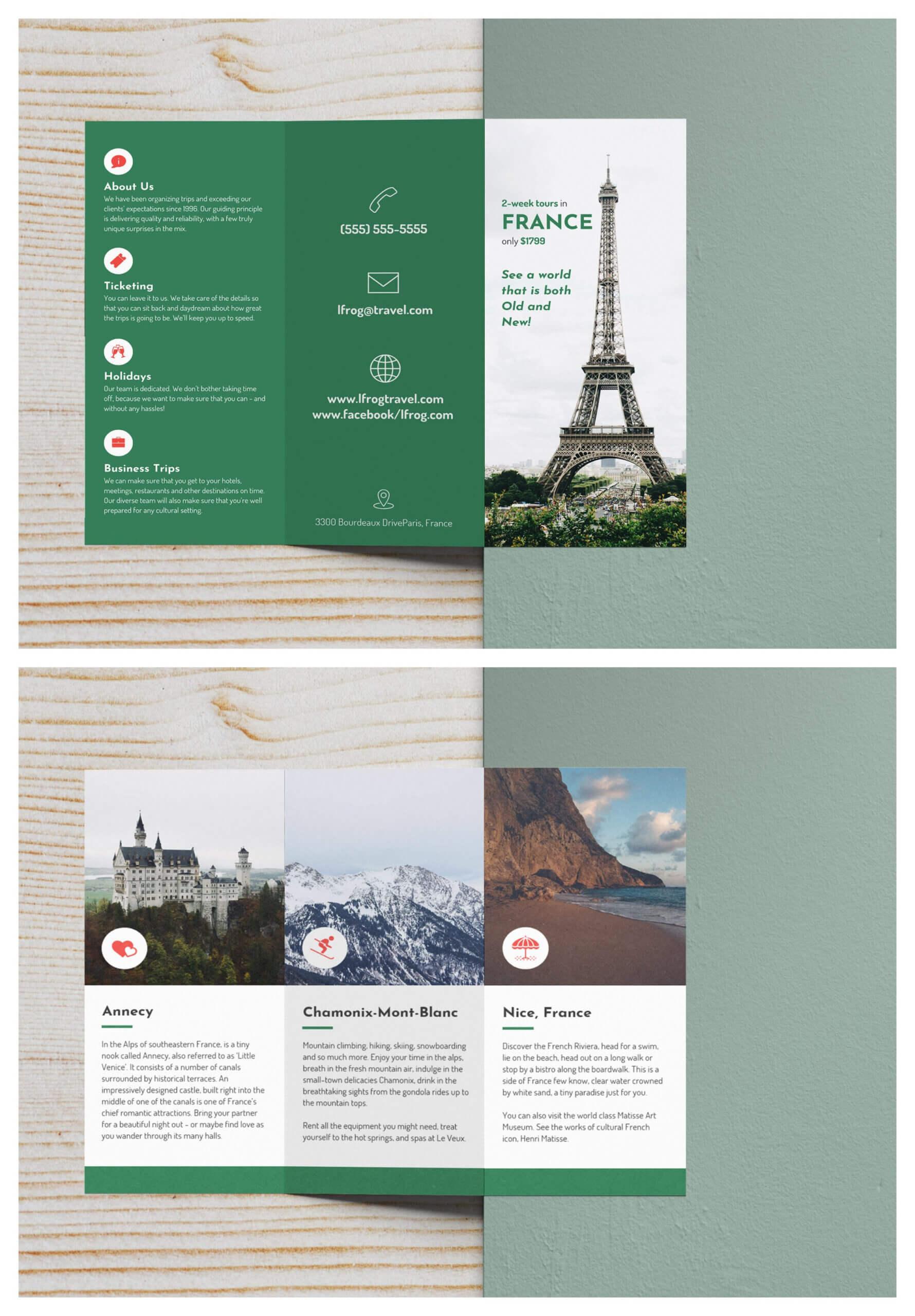 Sample Travel Brochure Template – Calep.midnightpig.co Inside Island Brochure Template