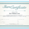 Shares Certificate – Dalep.midnightpig.co Within Corporate Share Certificate Template