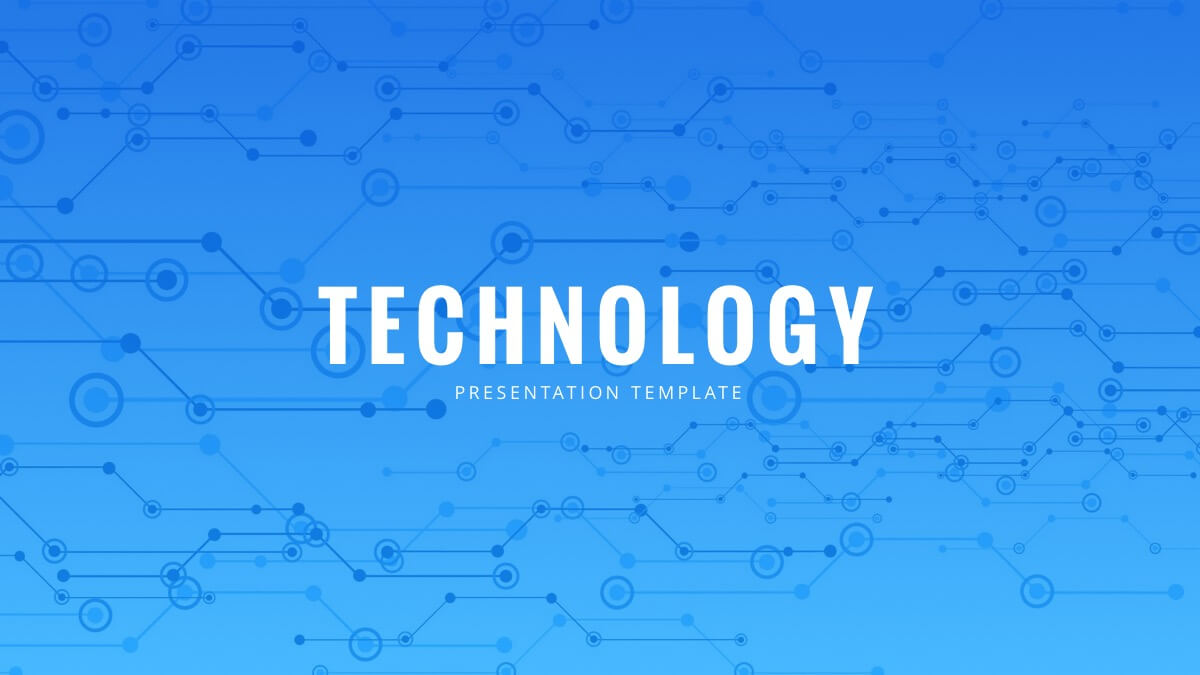 Technology Powerpoint Template - Free Powerpoint Presentation For Powerpoint Templates For Technology Presentations