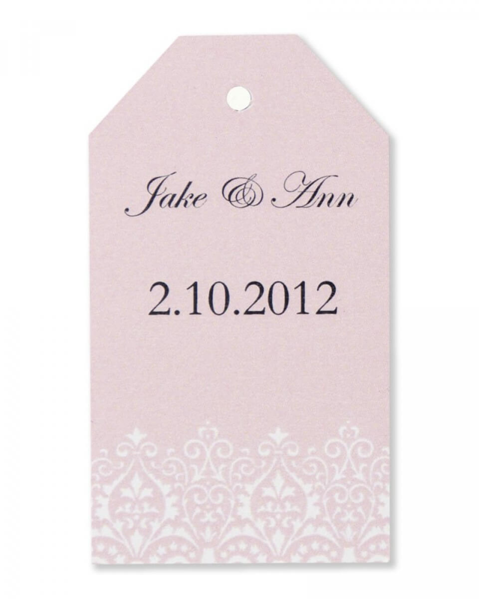Template For 8.5 X 11 Damask Labels With Gartner Studios Place Cards Template