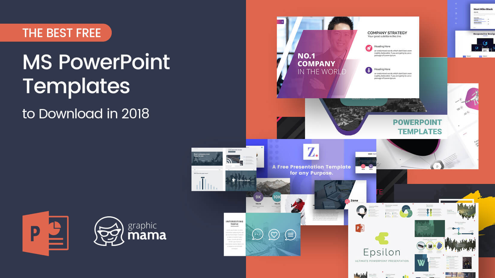 The Best Free Powerpoint Templates To Download In 2018 Throughout Powerpoint Sample Templates Free Download