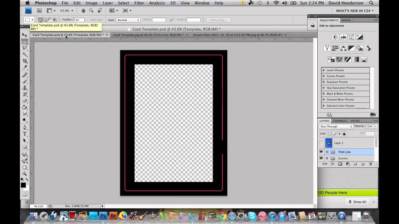 Thegamecrafter Card Template Tutorial With Trading Card Template Word