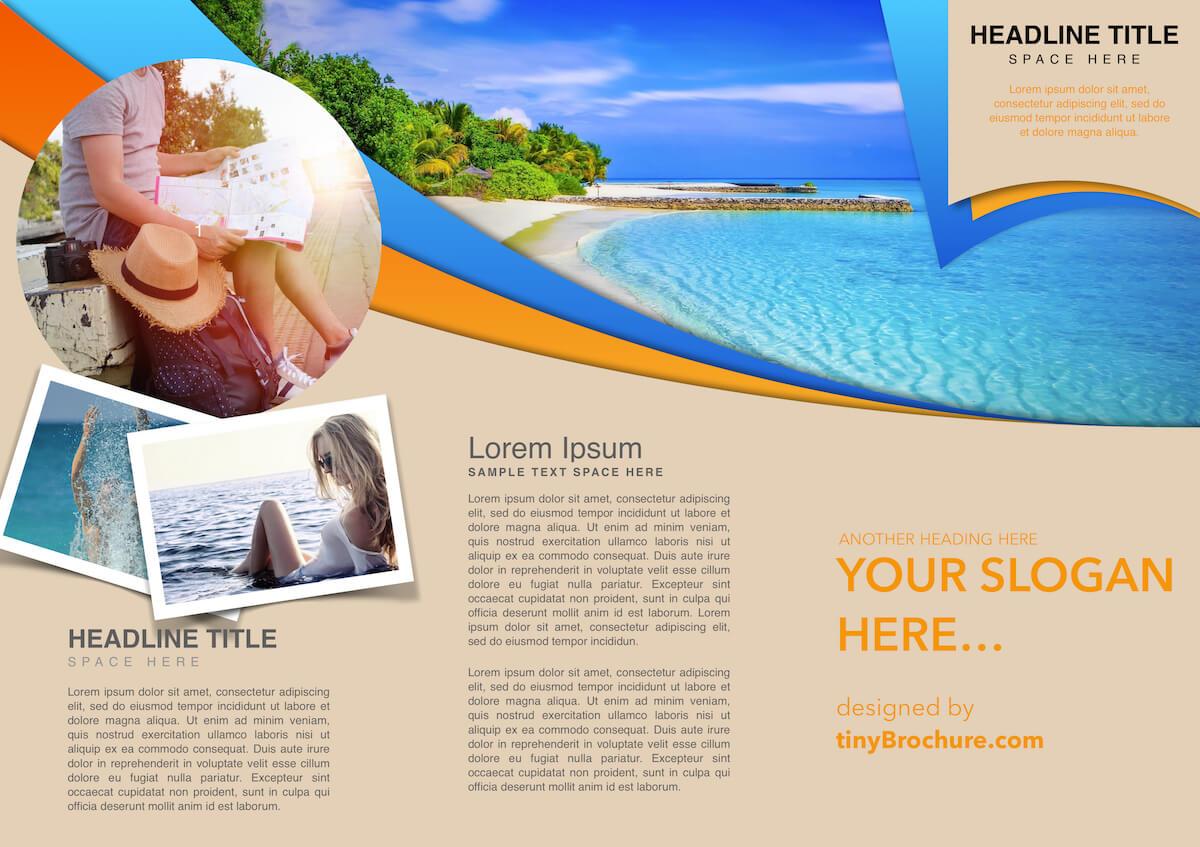 Travel Brochure Template Google Slides In Island Brochure Template