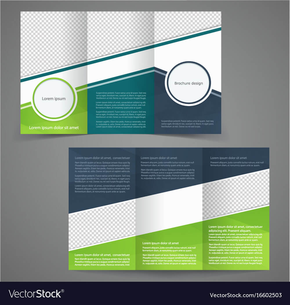 Tri Fold Business Brochure Template Two Sided Within Free Tri Fold Business Brochure Templates