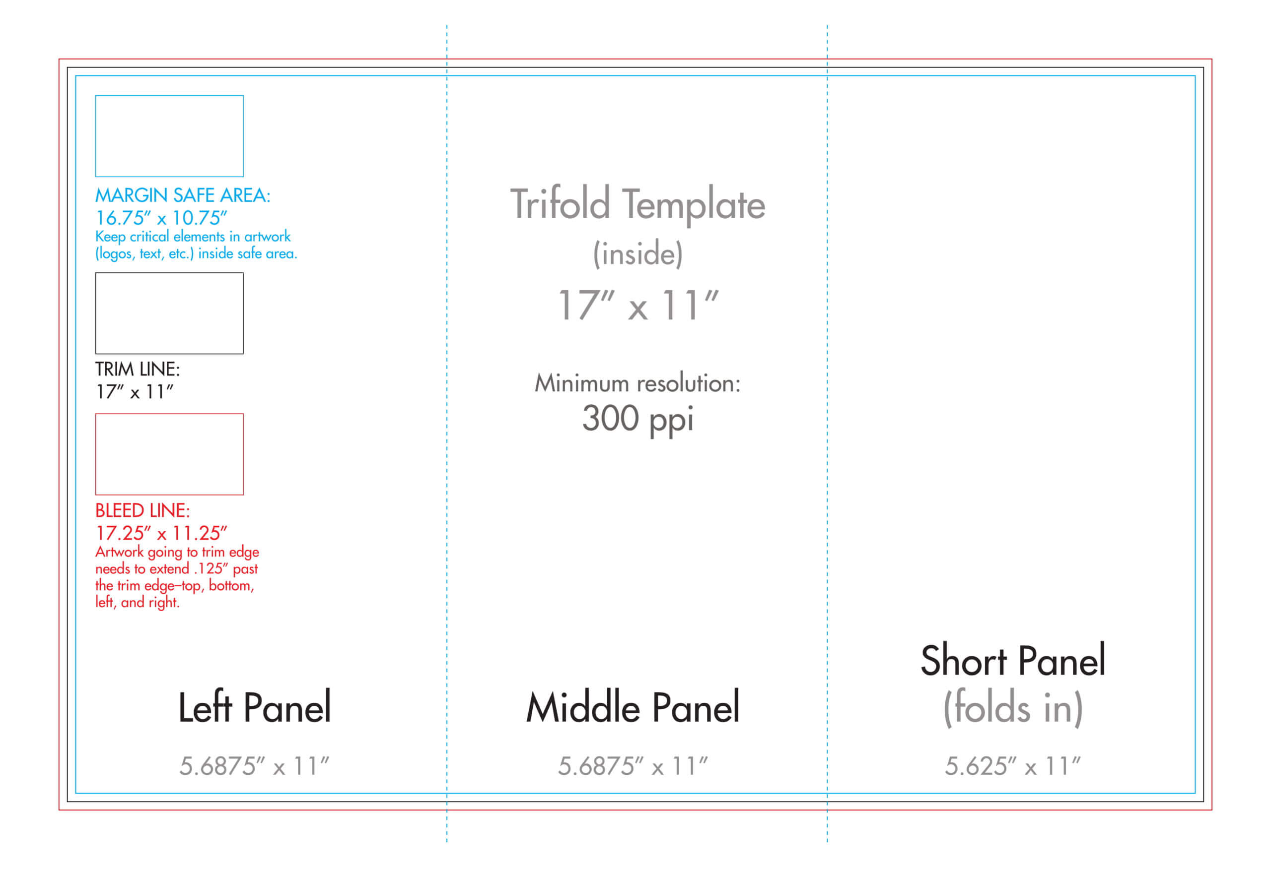 Trifold Format - Calep.midnightpig.co With Tri Fold Brochure Template Illustrator