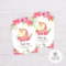 Unicorn Thank You Card Template Inside Thank You Card Template Word
