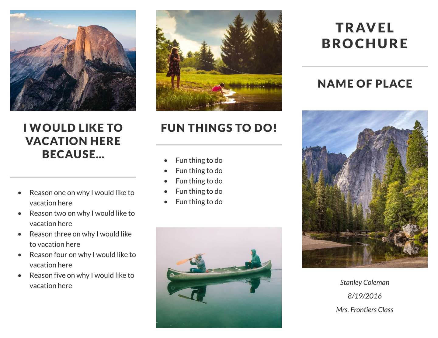 Vacation Brochure – Dalep.midnightpig.co Pertaining To Island Brochure Template