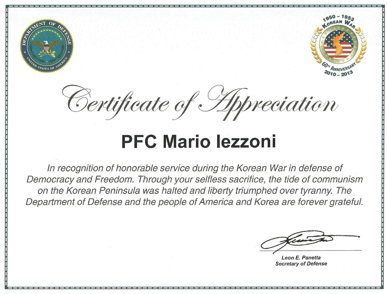 Veteran Certificate Of Appreciation Printable Related Pertaining To Army Certificate Of Appreciation Template