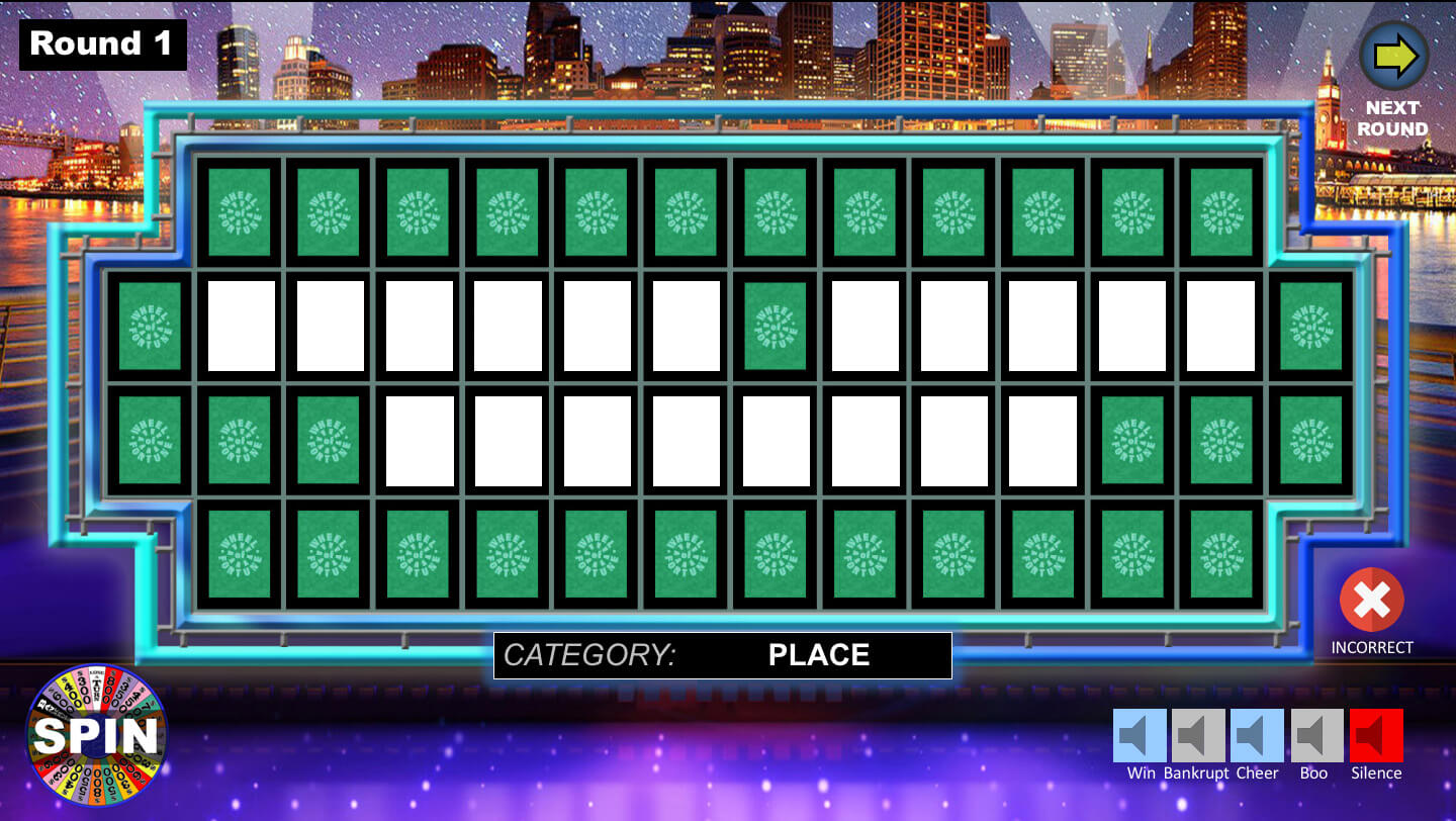 Wheel Of Fortune Powerpoint Game - Youth Downloadsyouth Within Wheel Of Fortune Powerpoint Template