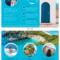 World Travel Tri Fold Brochure Inside Country Brochure Template